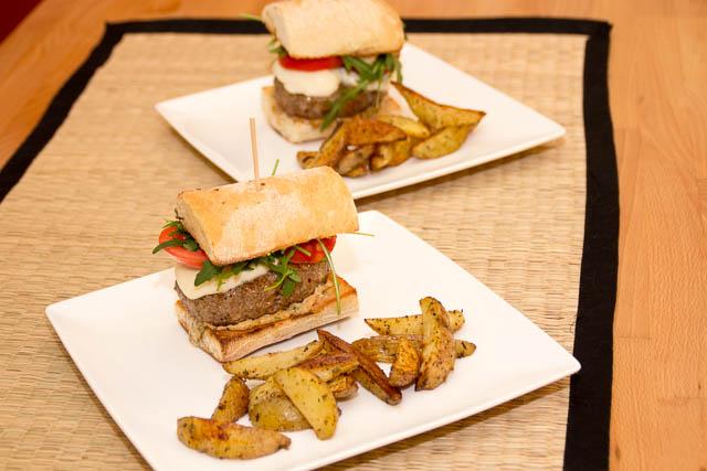 Italian beef burger - 001