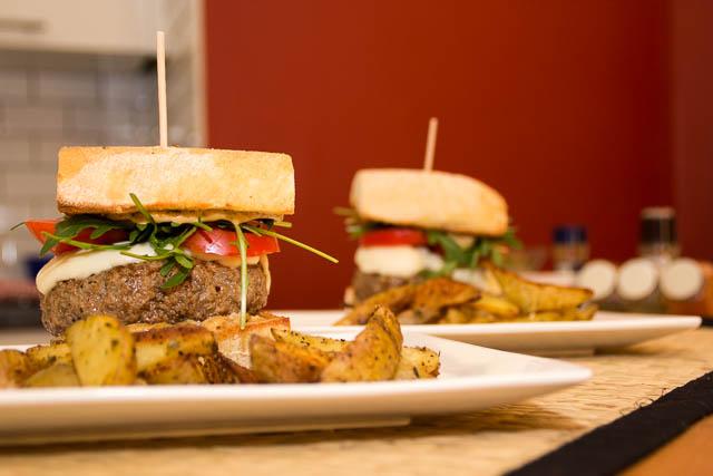 Italian beef burger - 002
