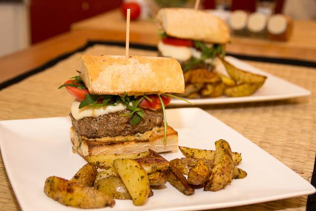 Italian beef burger - 004