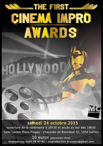 MCprod_affiche_Cinema impro awards_2015
